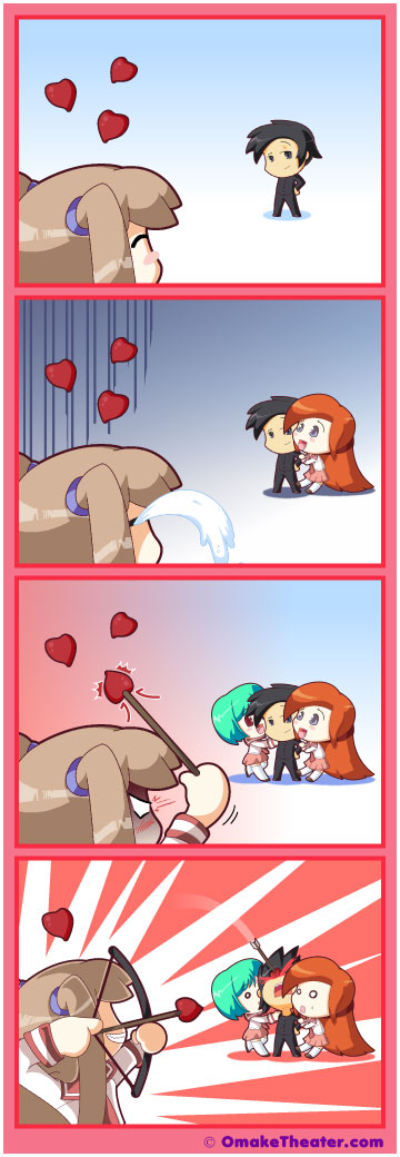 Unrequited Love - Friday 4Koma 第2話