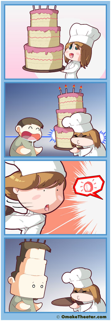 Let Them Eat Cake! - Friday 4Koma 第12話