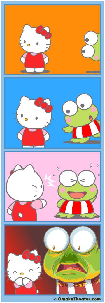 Here Kitty Kitty… - Friday 4Koma 第42話