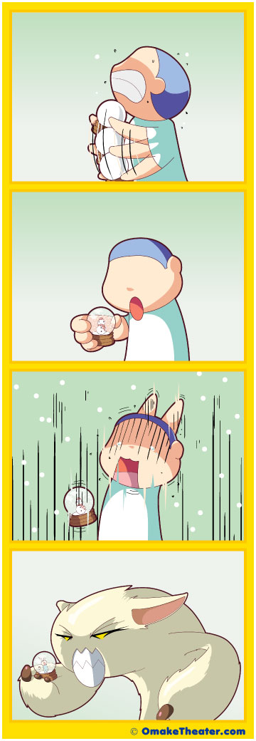 He's Got the Whole World in His Hands - Friday 4Koma 第47話