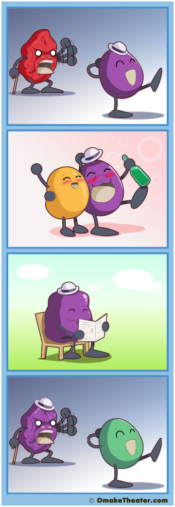 Sour Grapes - Friday 4Koma 第58話