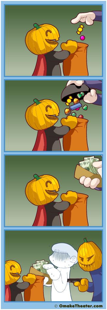 Happy Belated Halloween! - Friday 4Koma 第94話