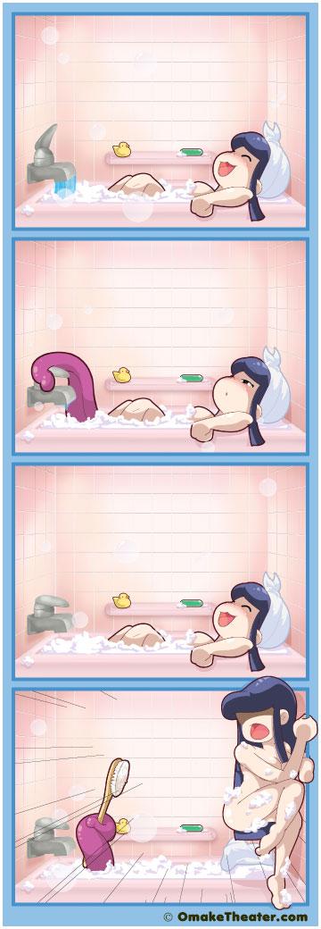 Bath Time - Friday 4Koma 第106話