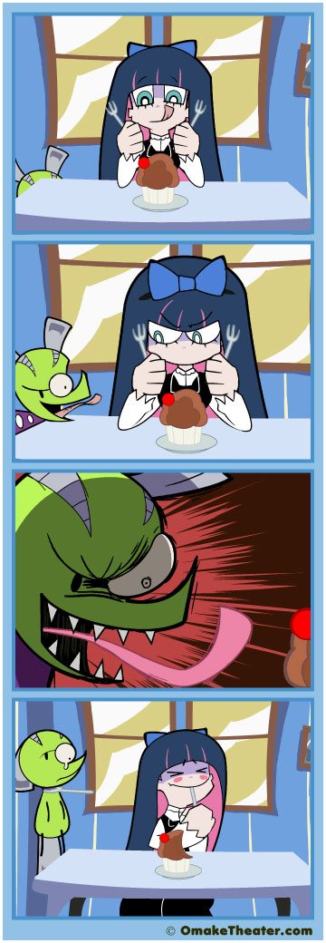 Pastry & Stocking with Gluttony - Friday 4Koma 第114話