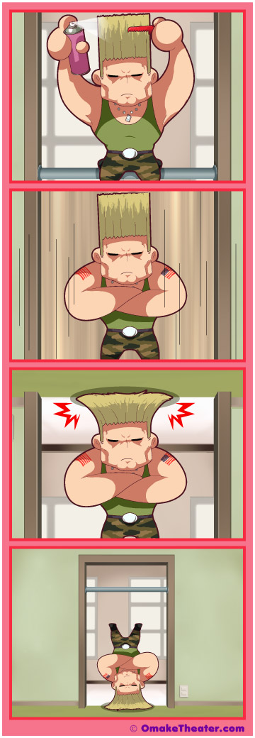 How Guile Does His Do - Friday 4Koma 第124話