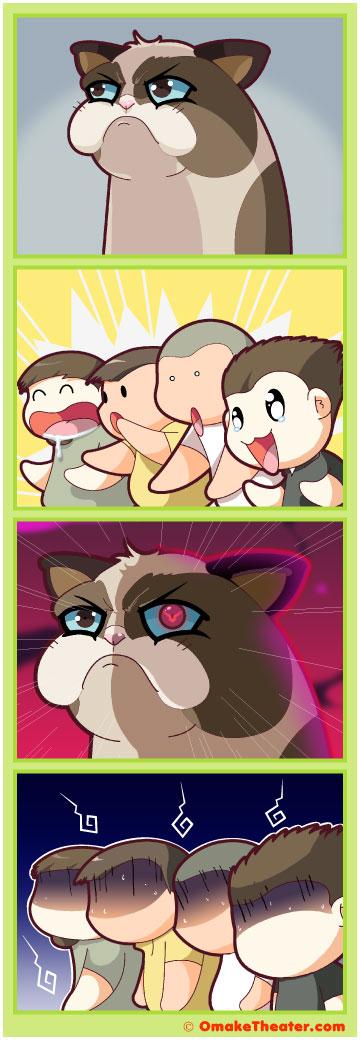 Why So Grumpy, Cat? - Friday 4Koma 第129話