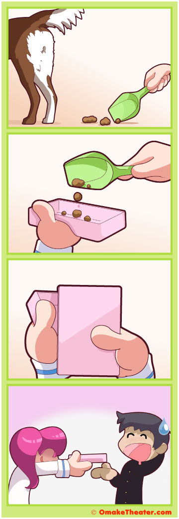What's the Scoop? - Friday 4Koma 第141話