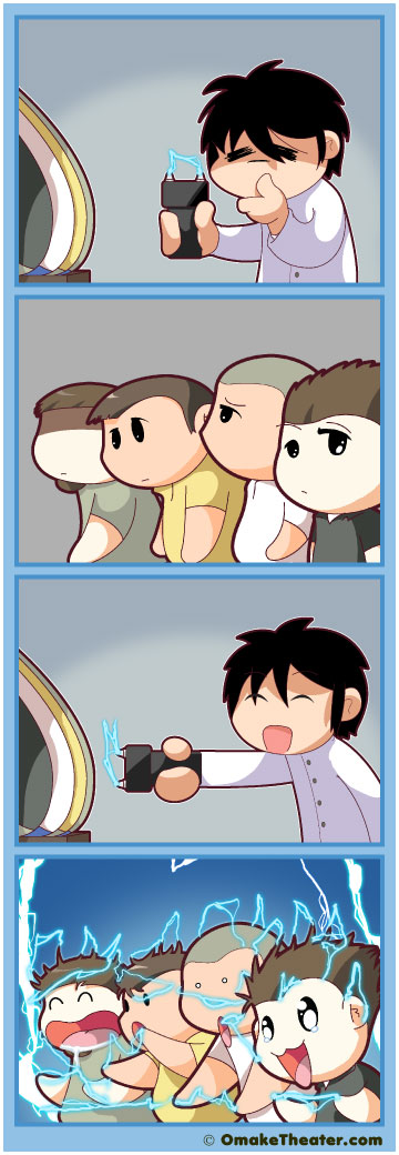 Tased and Confused - Friday 4Koma 第146話