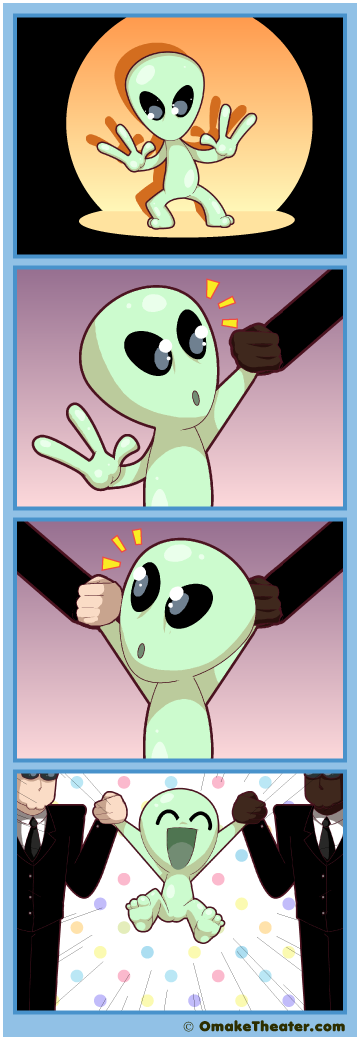 Alien Encounter - Friday 4Koma 第374話