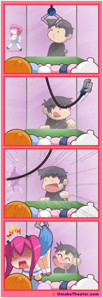 Claw Game - Friday 4Koma 第324話