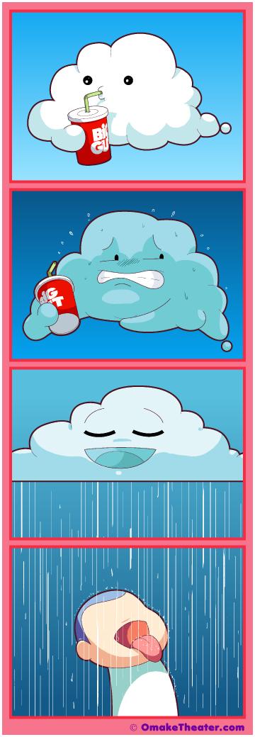 Cloudburst - Friday 4Koma 第312話