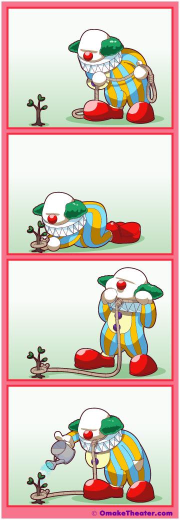 Clowning Around - Friday 4Koma 第212話