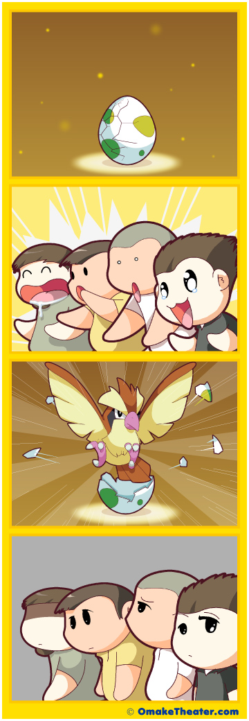 Egg on Your Face - Friday 4Koma 第275話