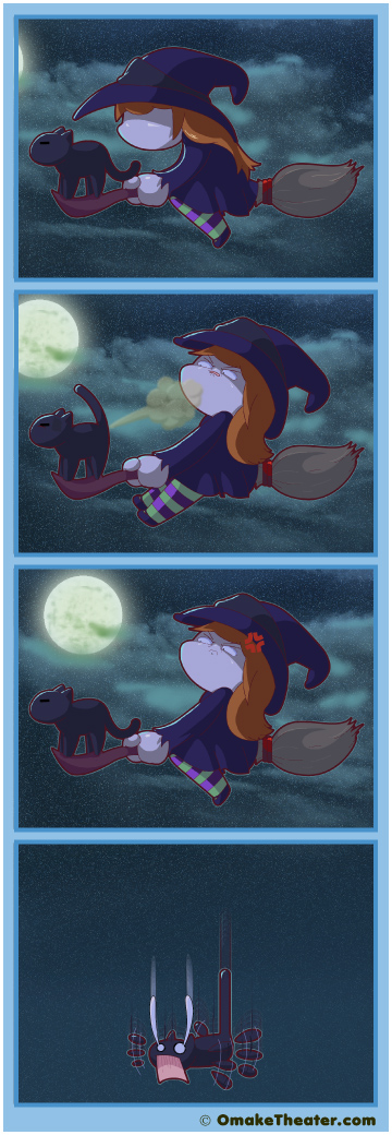 Every Witch Way But Loose - Friday 4Koma 第282話