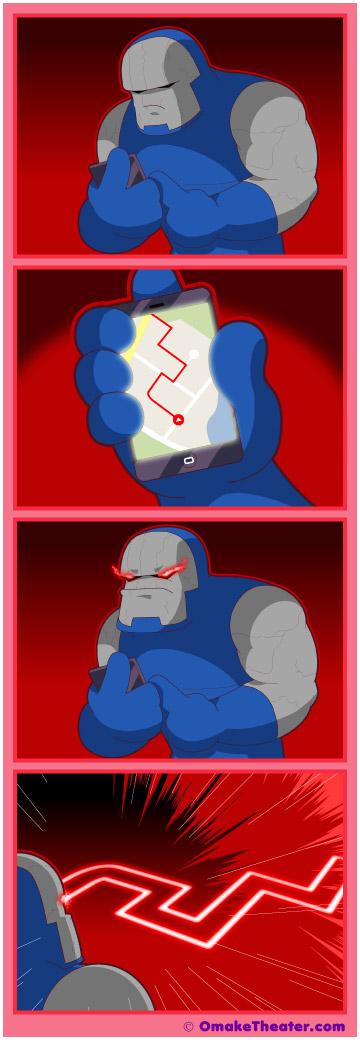 Everybody has a Darkseid - Friday 4Koma 第228話