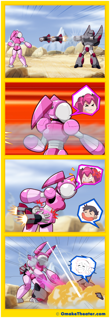 Giant Robots Fighting - Friday 4Koma 第399話