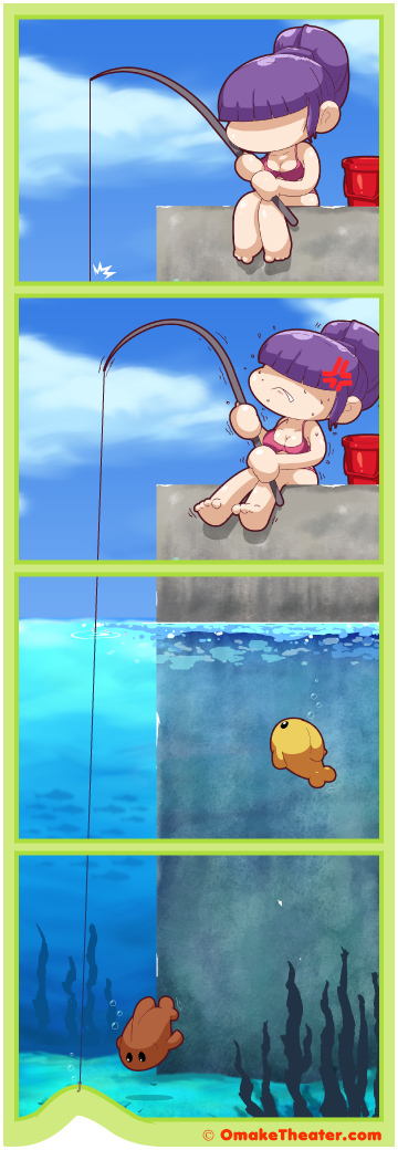 Gone Fishing - Friday 4Koma 第285話
