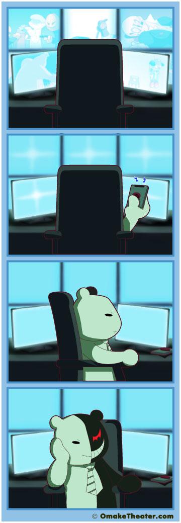 Grin and Bear It - Friday 4Koma 第158話