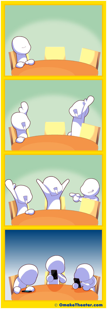 Hanging Out With Friends - Friday 4Koma 第199話