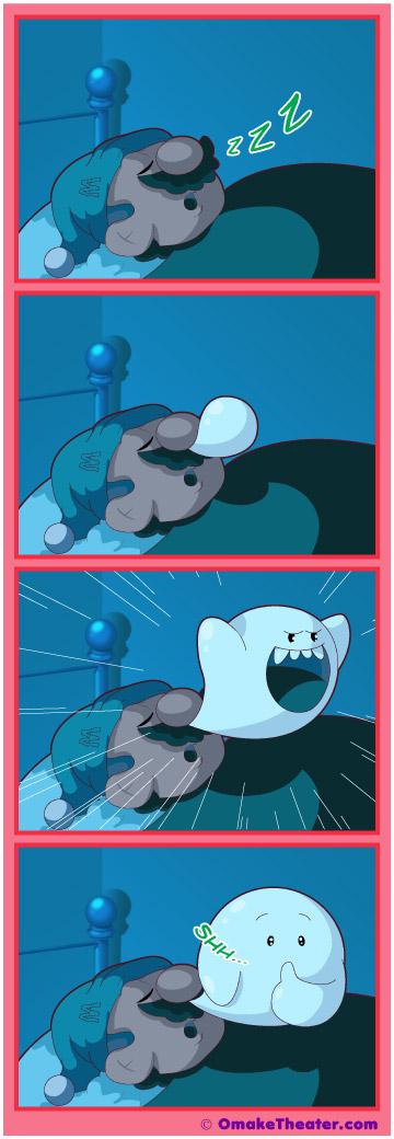 Little Mario in Slumberland - Friday 4Koma 第180話