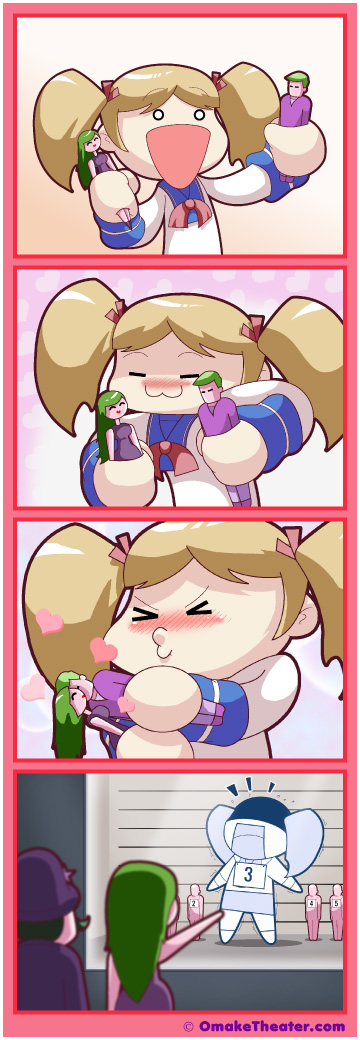 Making a Kissy-Face - Friday 4Koma 第328話