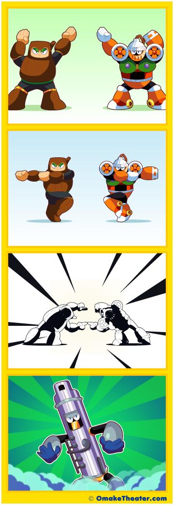 Mega Fusion Dance - Friday 4Koma 第363話