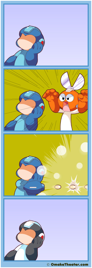 Mega Meh - Friday 4Koma 第290話