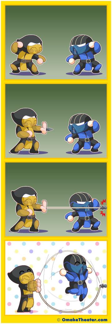 Mortal Komic - Friday 4Koma 第203話