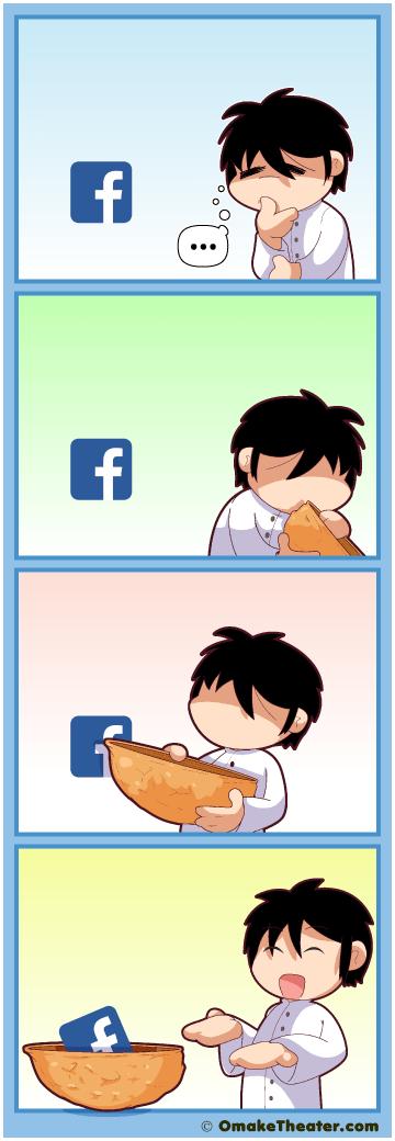 Facebook in Nutshell - Friday 4Koma 第398話