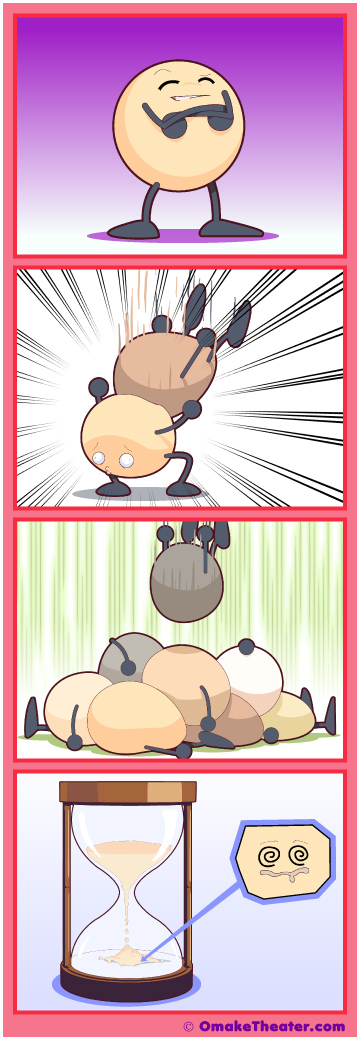So Are the Days of Our Lives - Friday 4Koma 第296話