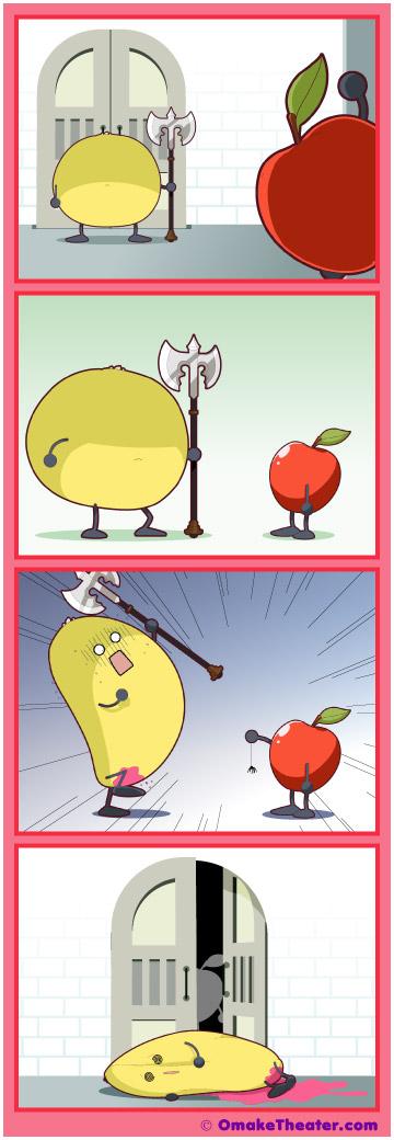 Sour Grapefruits - Friday 4Koma 第256話