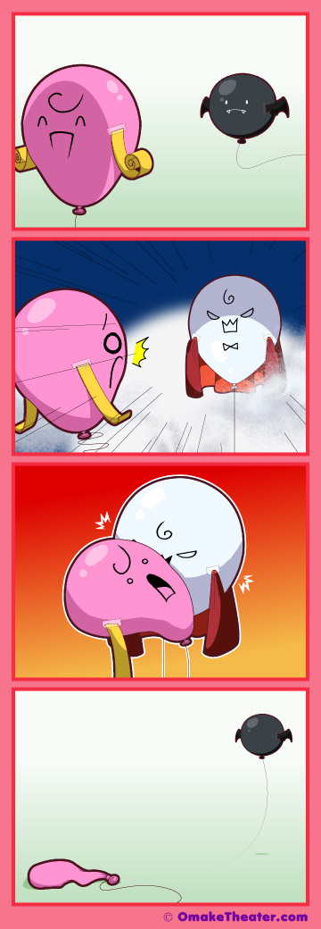 Things That Go Pop in the Night - Friday 4Koma 第244話