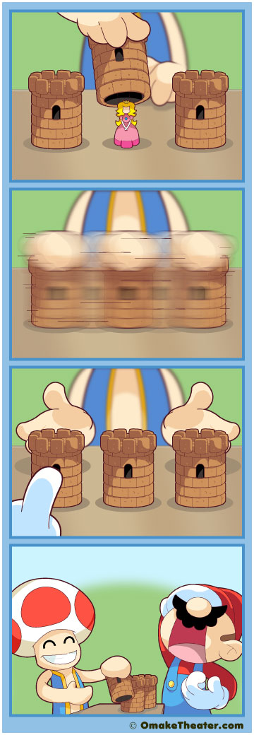 Three Card Mario - Friday 4Koma 第166話