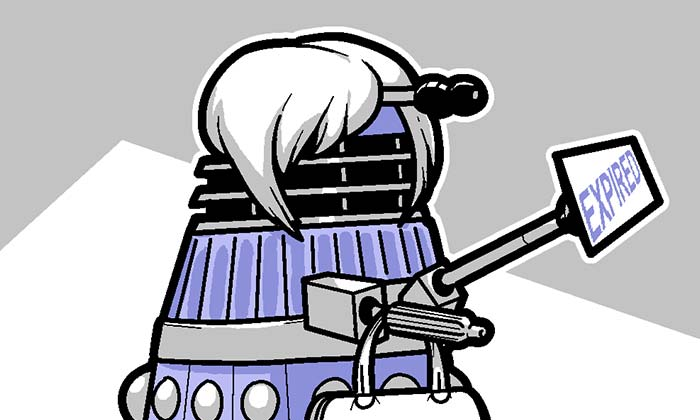 Mini-Yōikoma 第68話 - A Dalek to Fear Above All Others